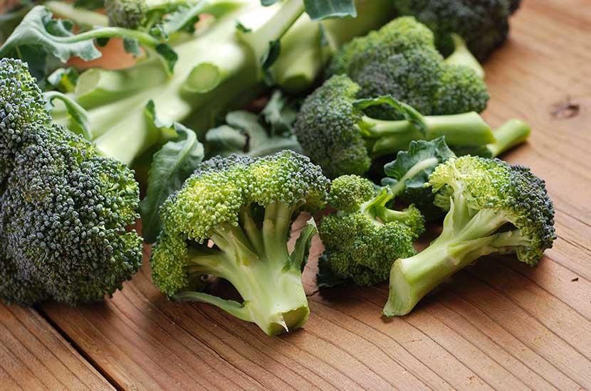 El brócoli es una verdura rica en cromo