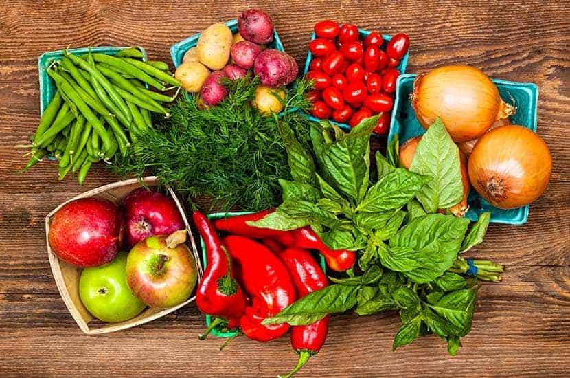 Comer una amplia variedad de frutas y verduras ayudará a potenciar los efectos de PhenQ