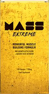 Mass Extreme es un suplemento enfocado a mejorar la ganancia muscular