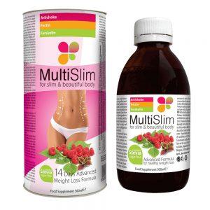 Multislim es un jarabe que puede ayudar a mantener un peso saludable
