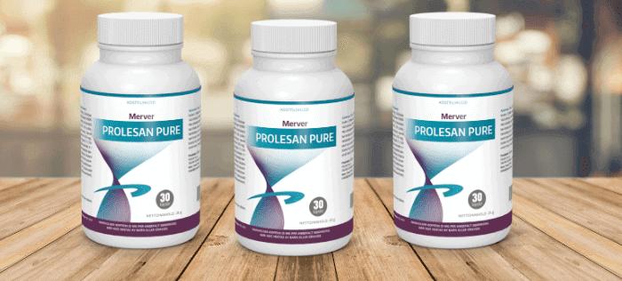 Prolesan Pure tiene una mezcla única de extractos de plantas para ayudarlo a ponerse en forma