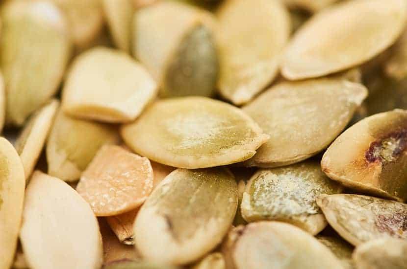 Las semillas de calabaza también tienen propiedades antiinflamatorias.