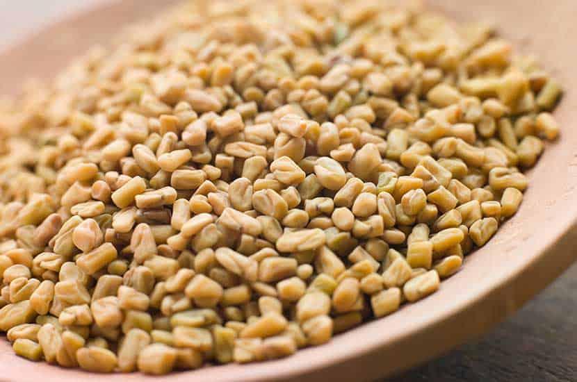 Las semillas de fenogreco pueden estimular la producción de testosterona