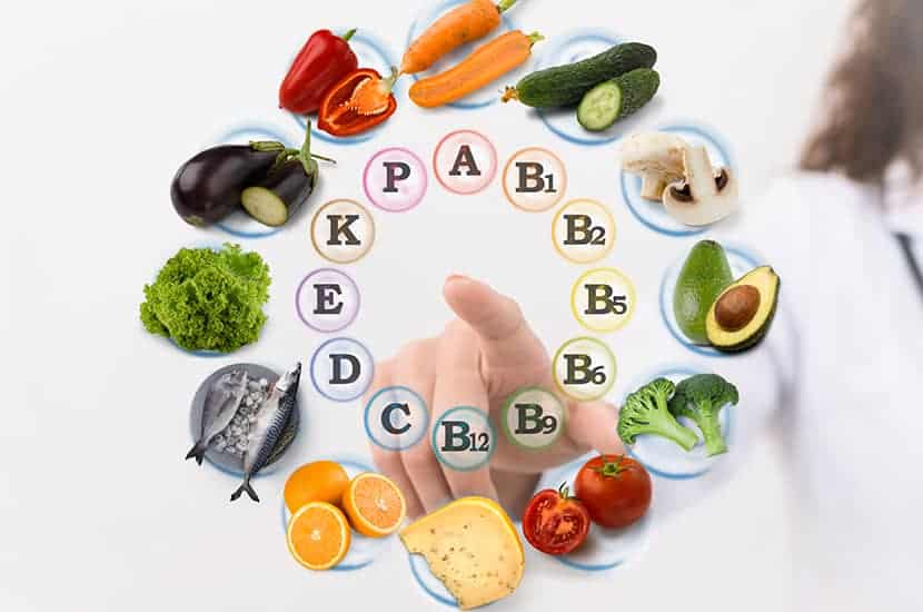 Estas vitaminas y minerales funcionan como poderosos antioxidantes.