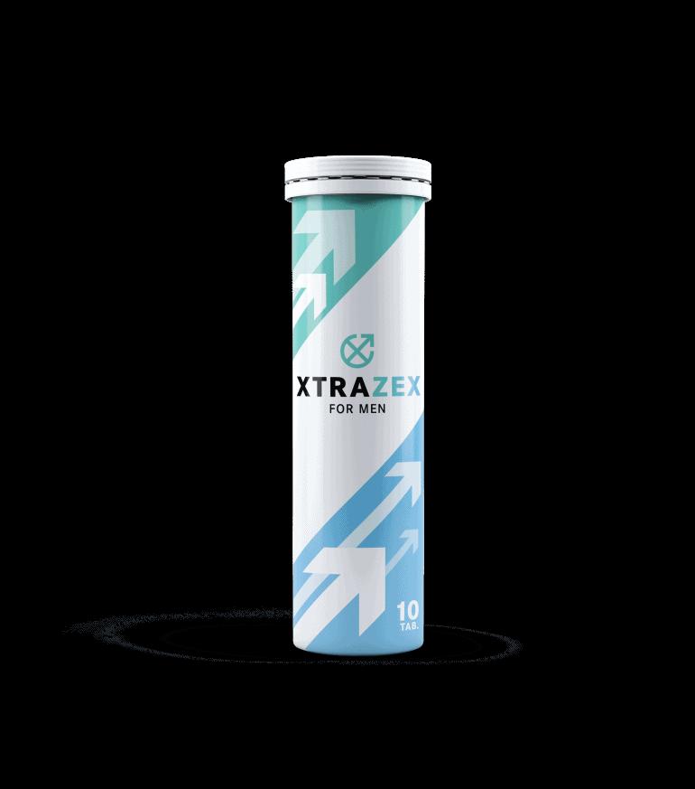 Xtrazex es un producto en forma de tabletas efervescentes para potencia masculina.