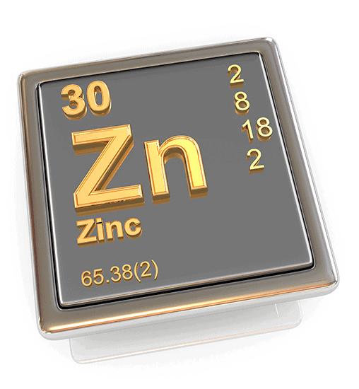 El zinc es un nutriente esencial para el organismo.